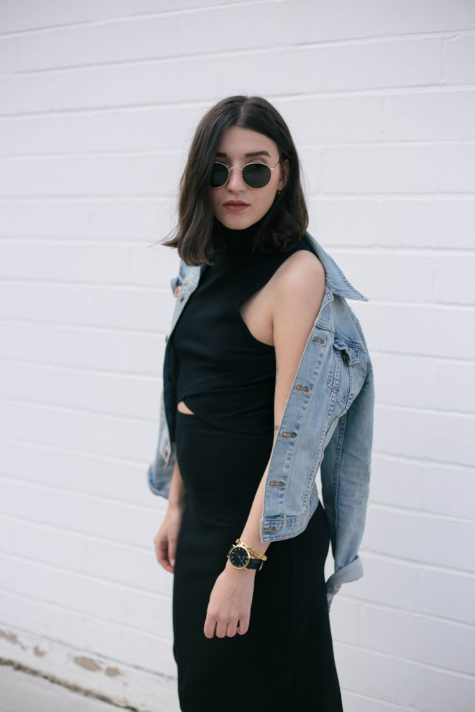 Basic Apparel-Sophievandaniels-Aboutyou-Rayban-sneakers-adidas-stansmith-zara-blogger-fashion-mididress-6